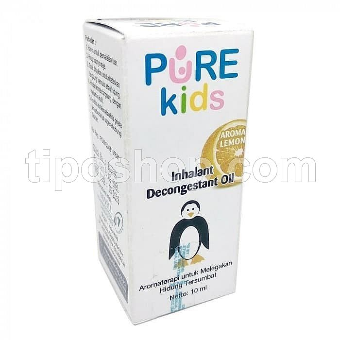 Bayi Flu Pure Kids Inhalant Aromatheraphy Lemon