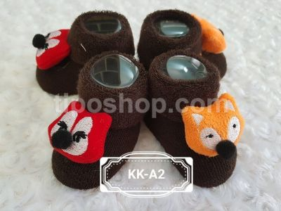 Kaos Kaki Bayi Tipo Rattle Fun Zoo